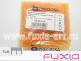 Чешский бисер PRECIOSA оранжевый 01182 10/0 50гр.